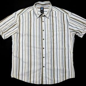 Kuhl Mens XL Short Sleeve Button Up Shirt